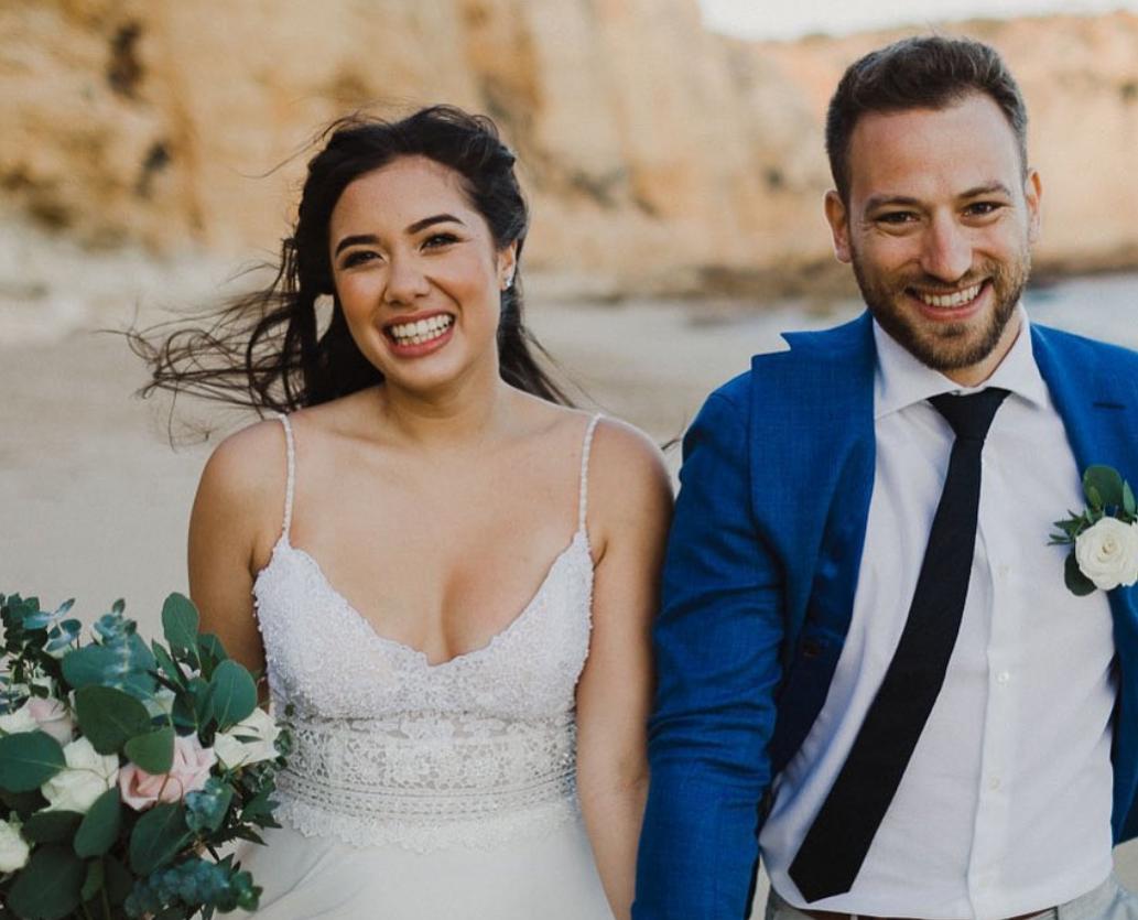 CAROLINE CROUCH and husband