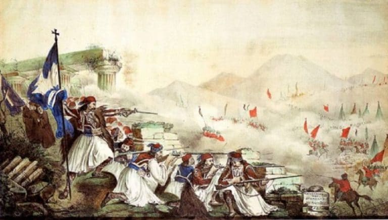 The Heroic Battle of Gravia: When 120 Greeks Defeated the Ottoman Army