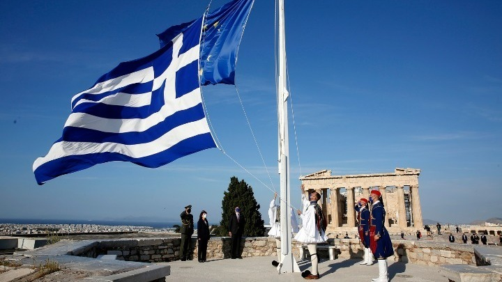 Greece Marks Europe Day 2021 with Acropolis Ceremony