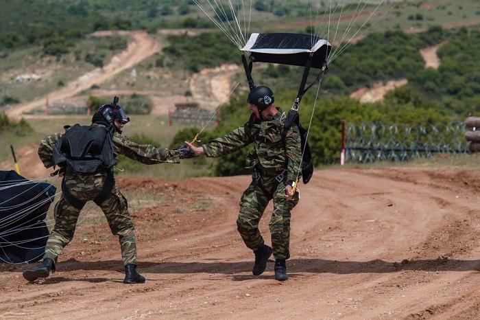 US Greek military exercise