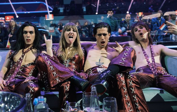 Maneskin at the Eurovision Final