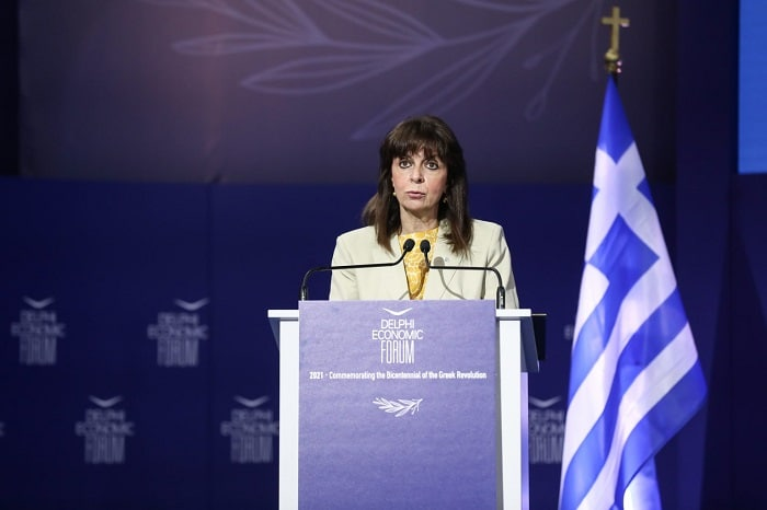 "President Sakellaropoulou: Greece ""Returns to Normalcy"""