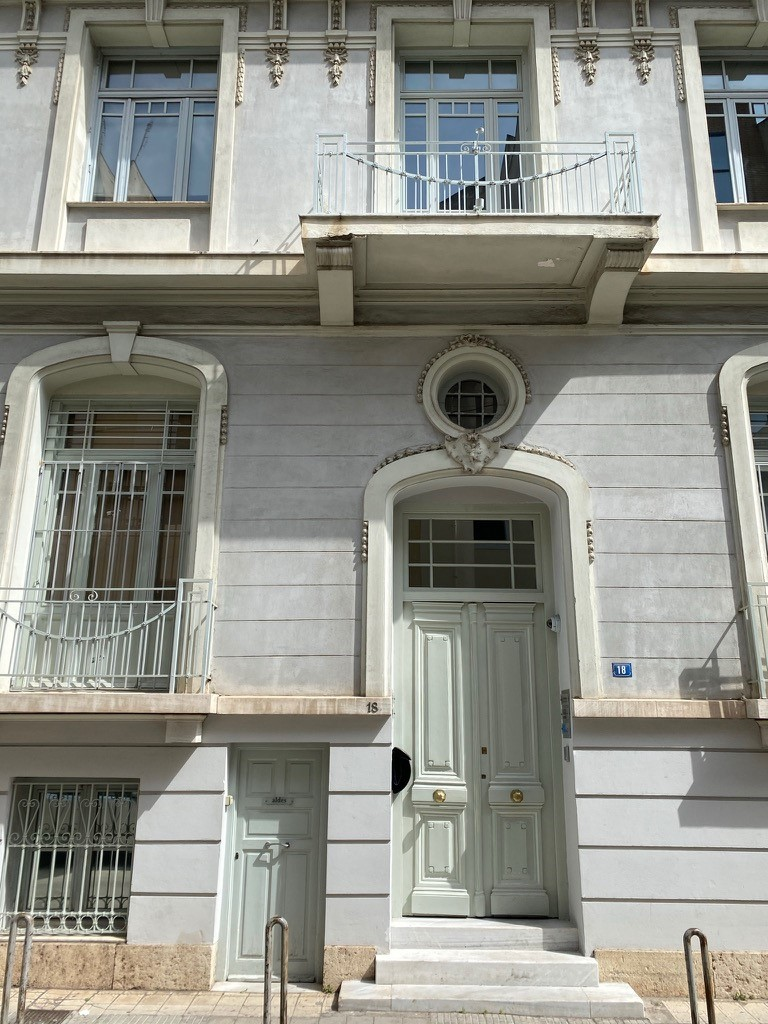 Athens neoclassical buildings