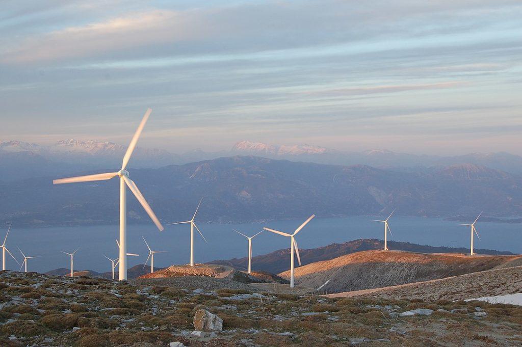 wind farm Greece