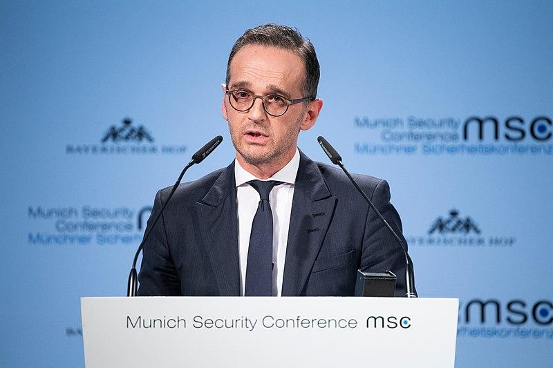 Heiko Maas German Foreign Minister EU