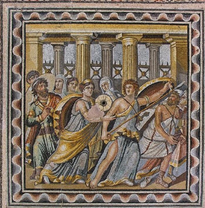 Greek mosaics of Zeugma