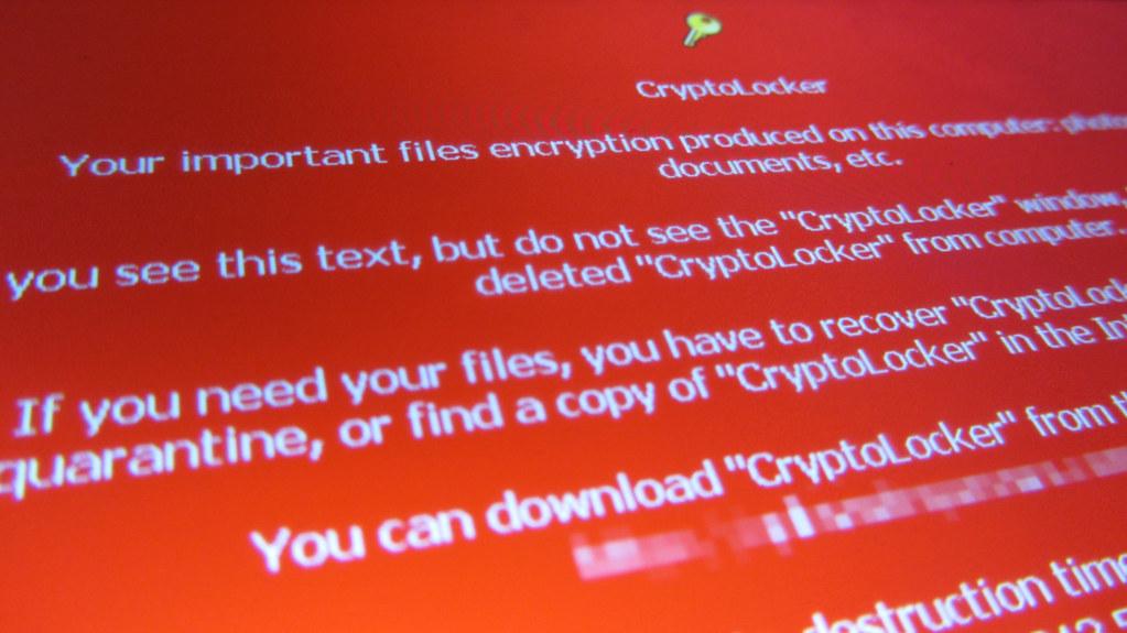 CryptoLocker, a ransomware
