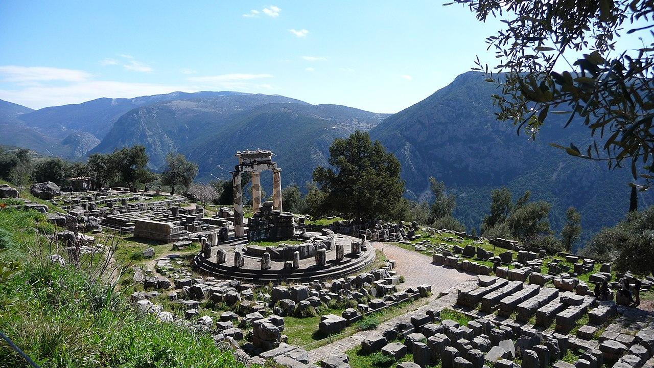 ancient greek earthquakes