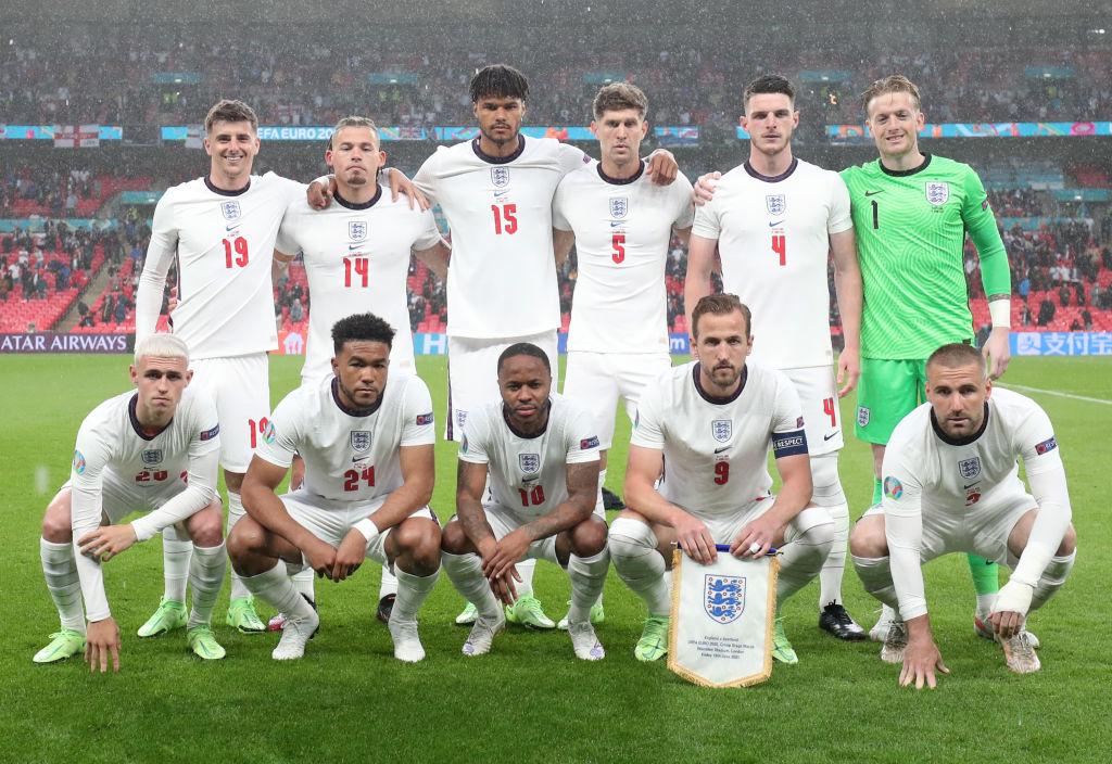 2020 Euros England