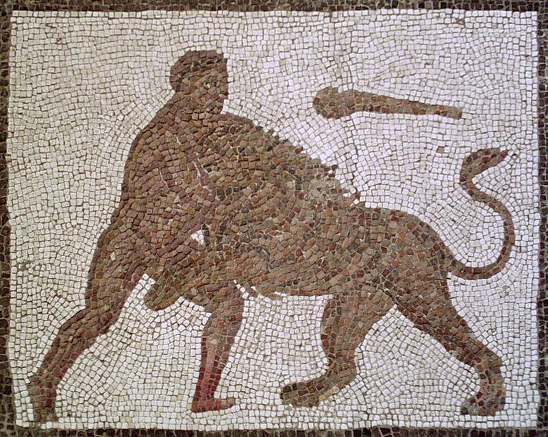 Hercules Nemean Lion