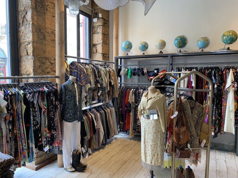 Thrift stores Athens vintage secondhand