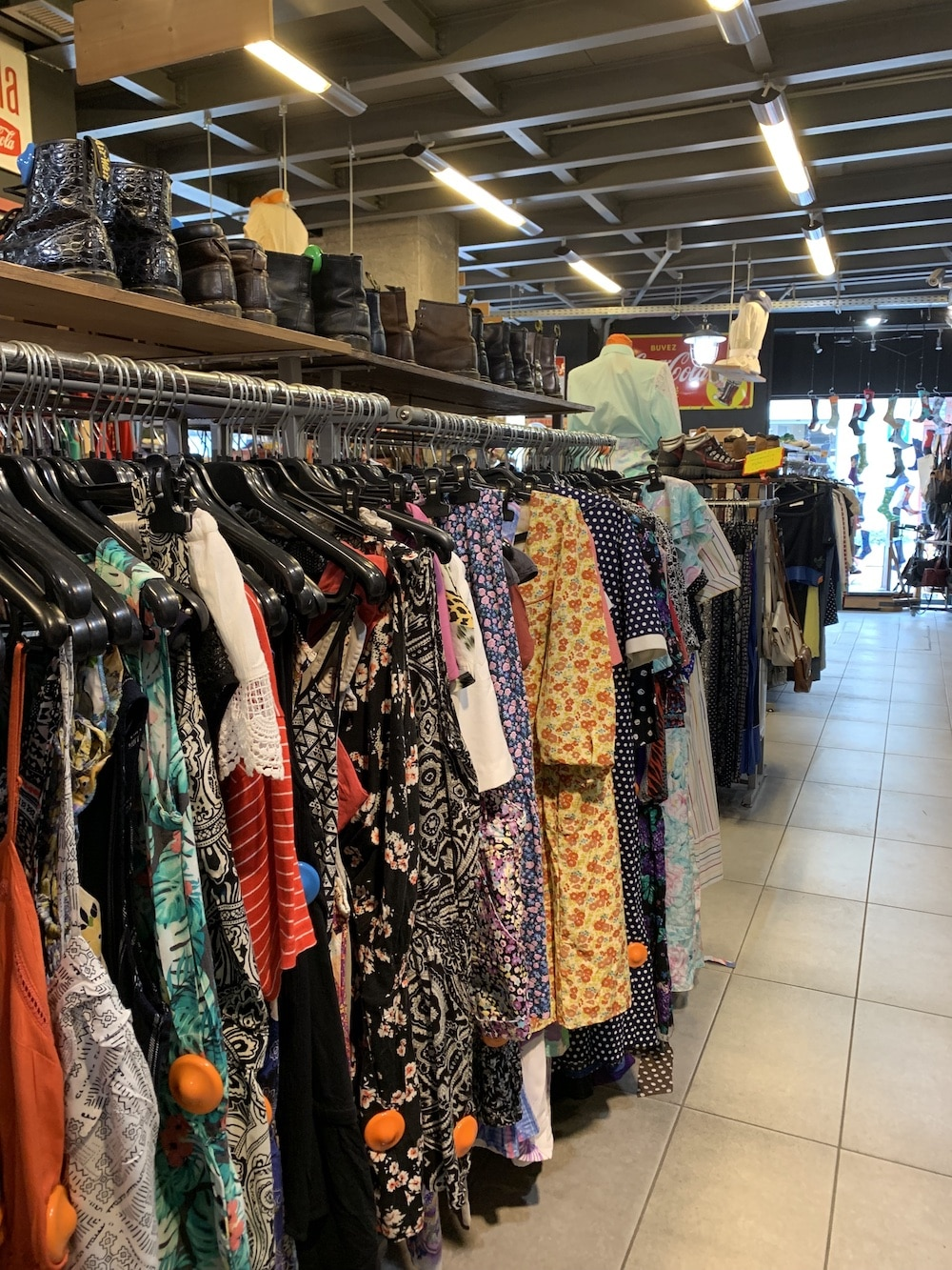 Thrift vintage stores Athens secondhand
