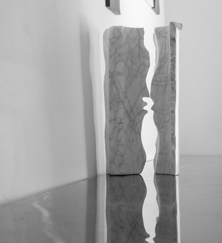 Santorini sculpture