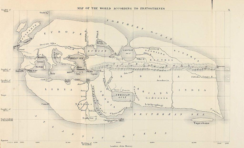 Eratosthenes Egypt Map