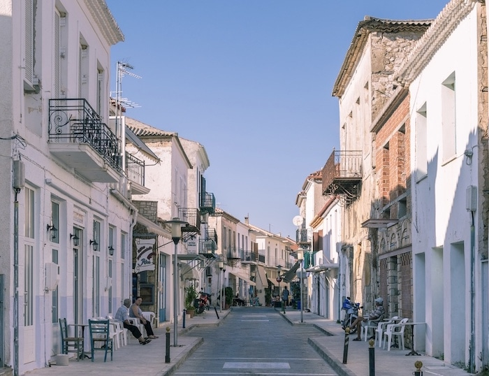 Methoni in Messinia, Peloponnese