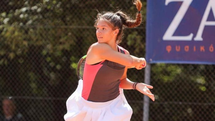 Michaela Laki tennis greece