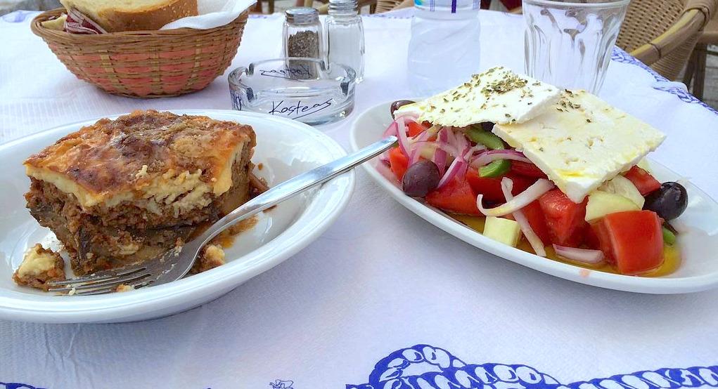 greek food - national dish of Greece
