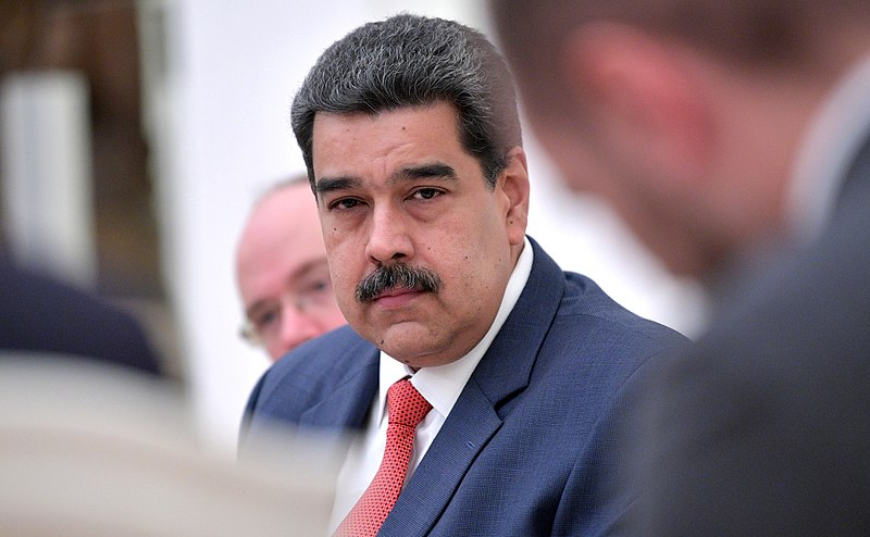 the president of Venezuela, Nicolás Maduro.