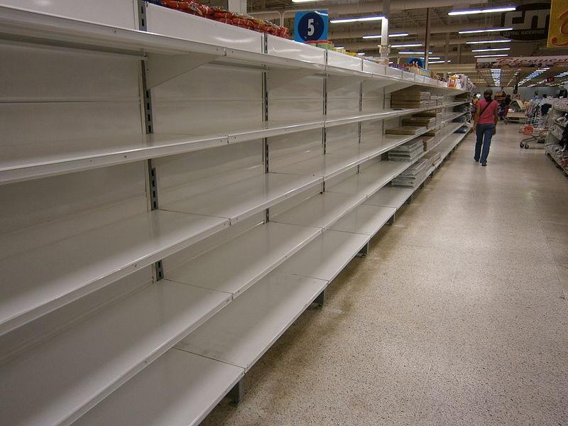 Shortage in Venezuela