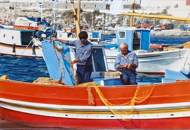 2 Greek Fisherman
