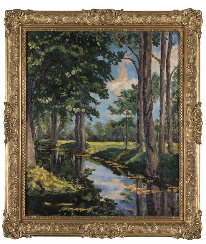 Winston Churchill Oil Painting