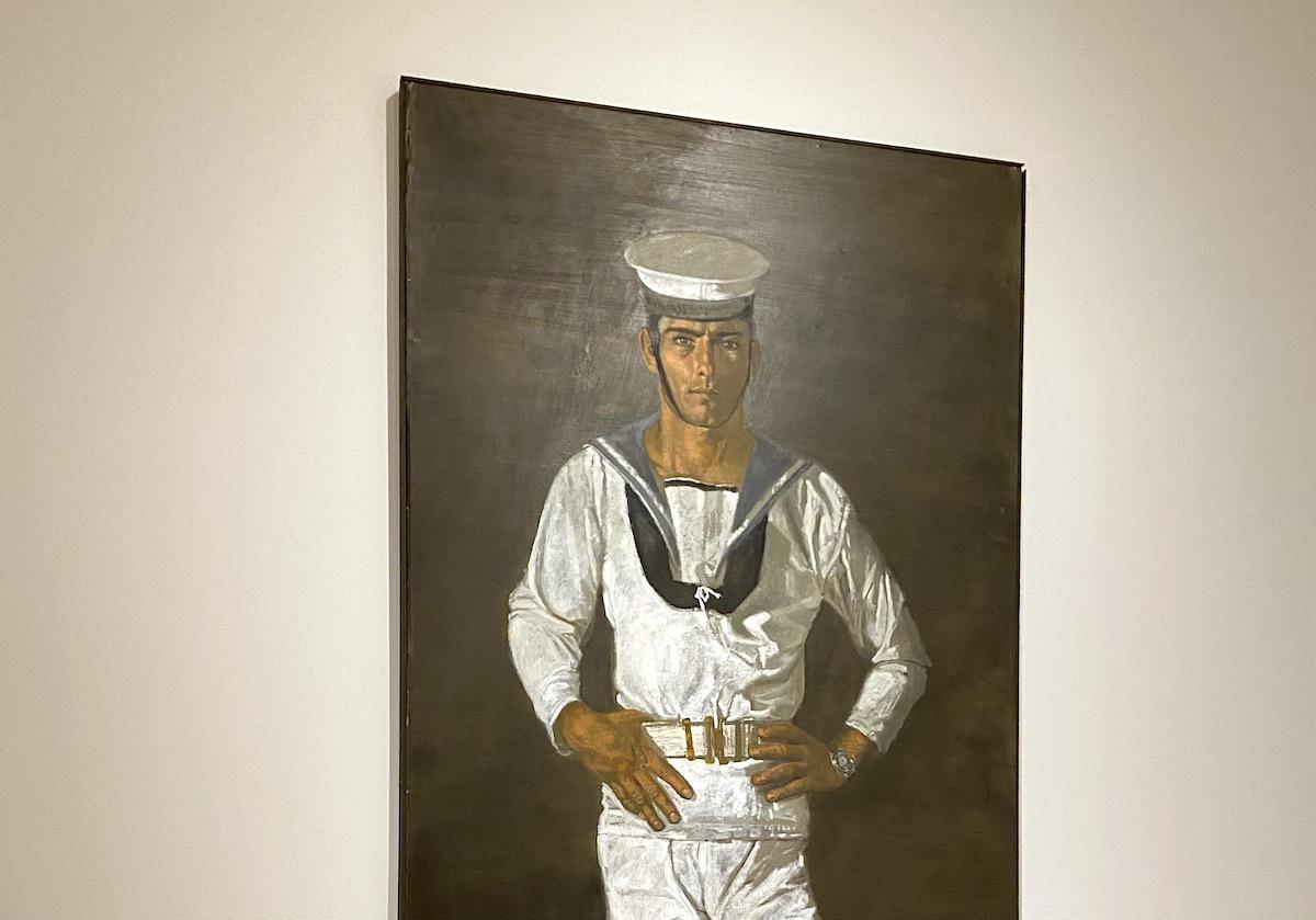 Tsarouchis sailor