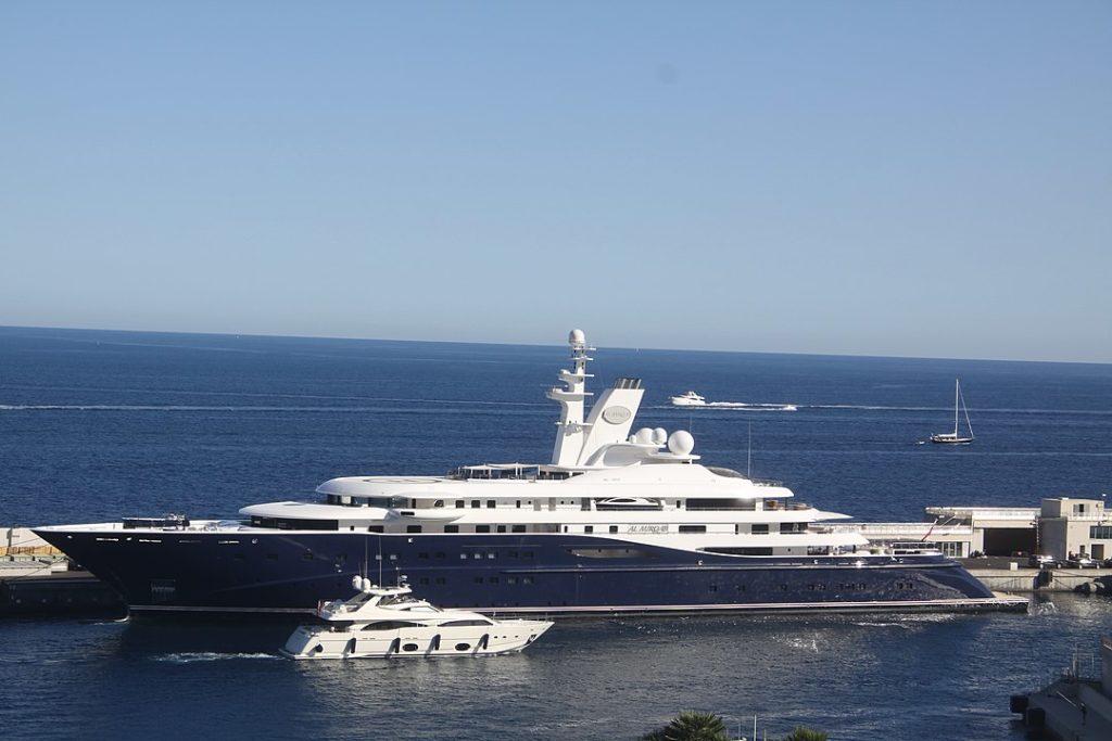Qatar super yacht Greece Al Mirqab