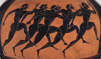 Athletes Ancient Greece