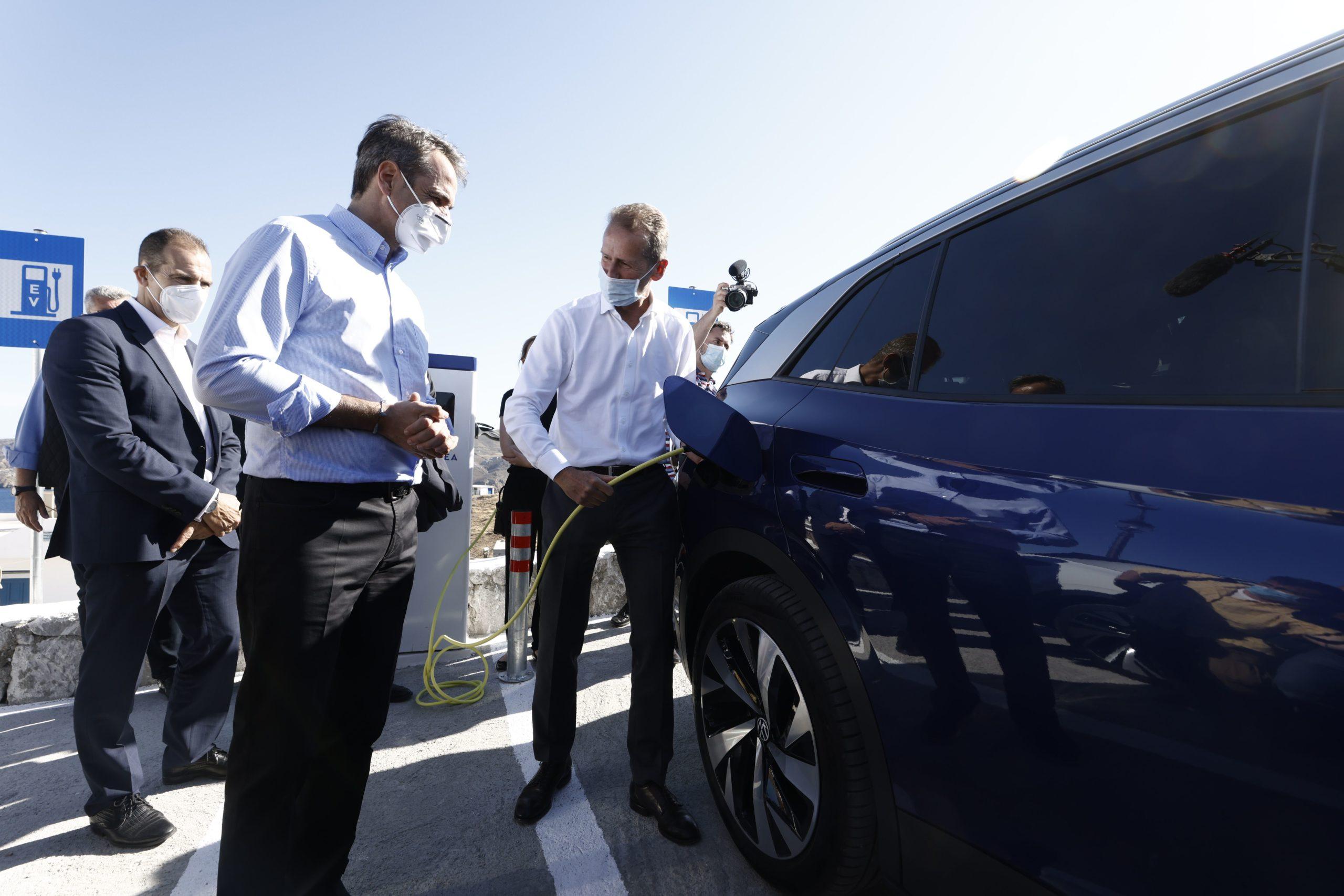 Astypalaia Volkswagen Green energy