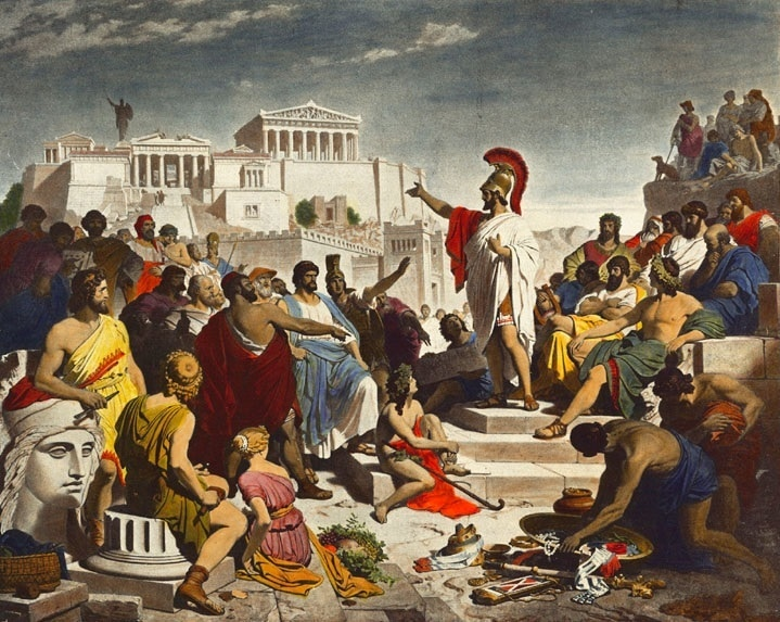 Ancient Greeks Democracy
