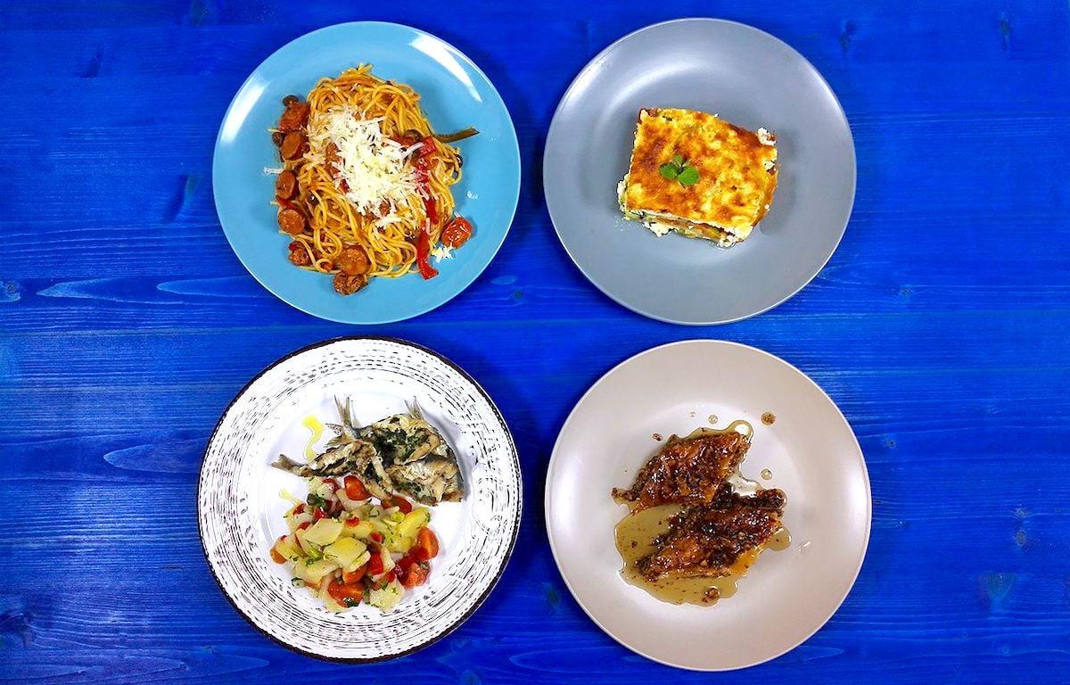 Greek food mediterranean diet healthy