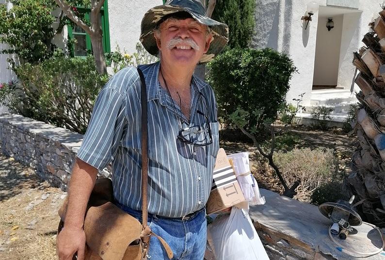 Mailman Greece's Amorgos