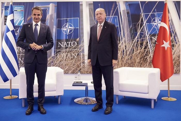 Mitsotakis Erdogan Greece Turkey
