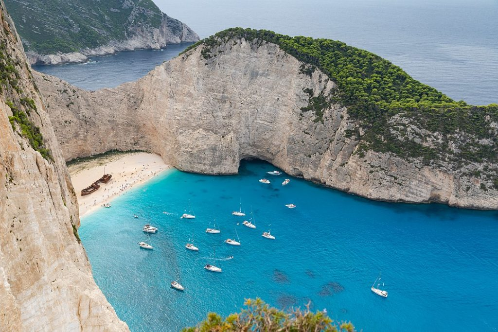 navagio beach is among the Most Photographed Beaches in the World