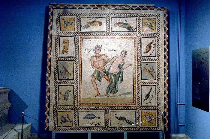 Gree mosaics of Zeugma