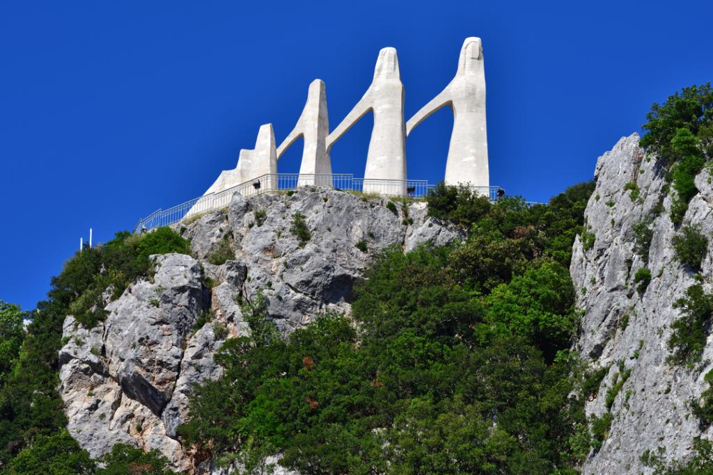 Zalongo monument Greece cultural heritage site