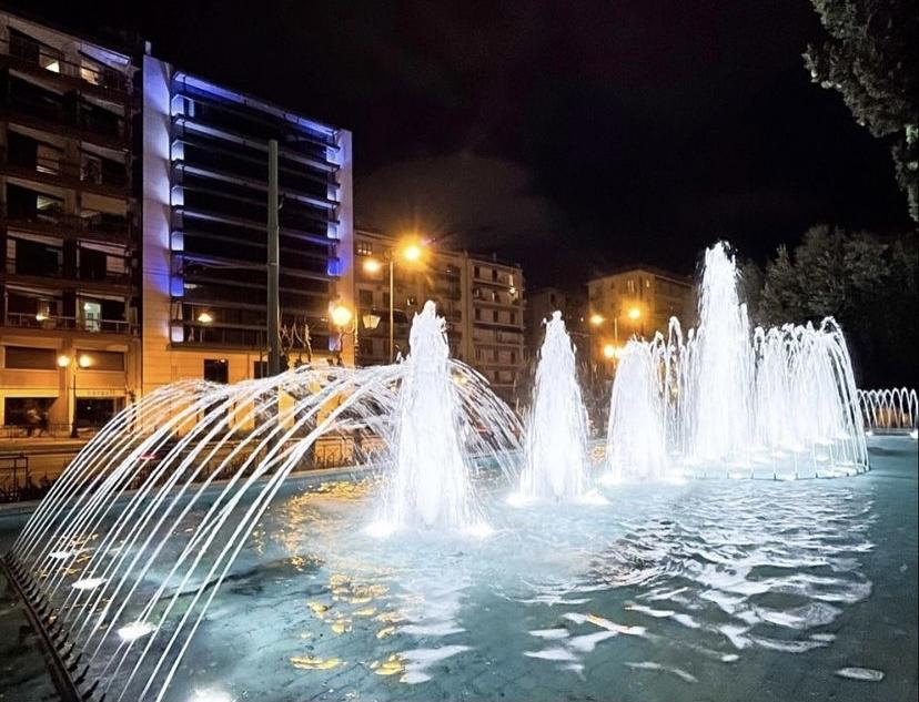 Athens fountains