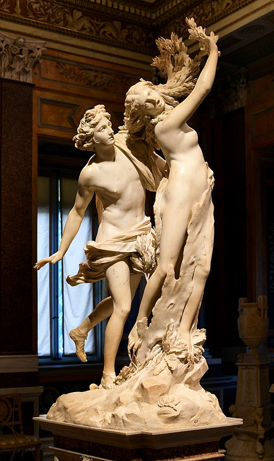Statue of Apollo and Daphne an interpretations of the Greek Myth