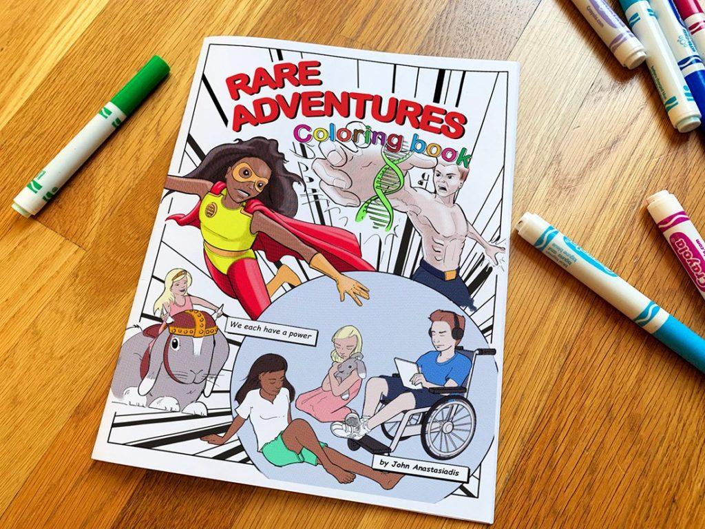 Rare Adventures Coloring book