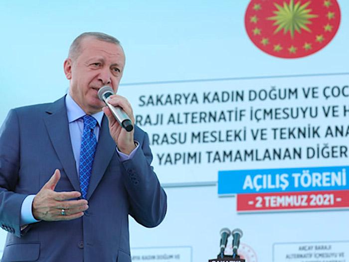 Turkey President Erdogan