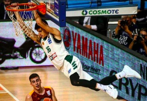 Milwaukee Bucks Draft Greek Player Georgios Kalaitzakis