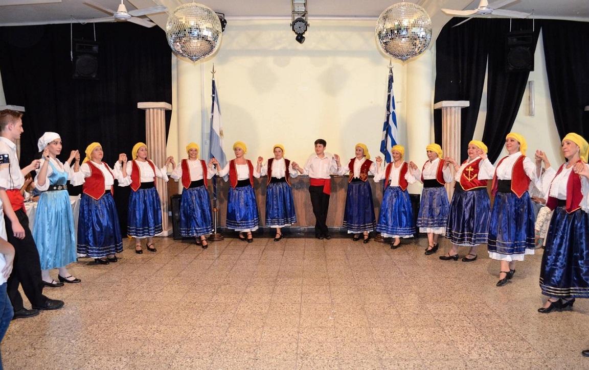 Miembros de la comunidad griega en Córdoba, Argentina