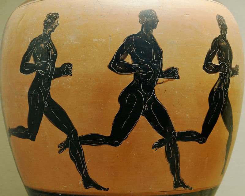 Ancient Greek Olympians olympic Games