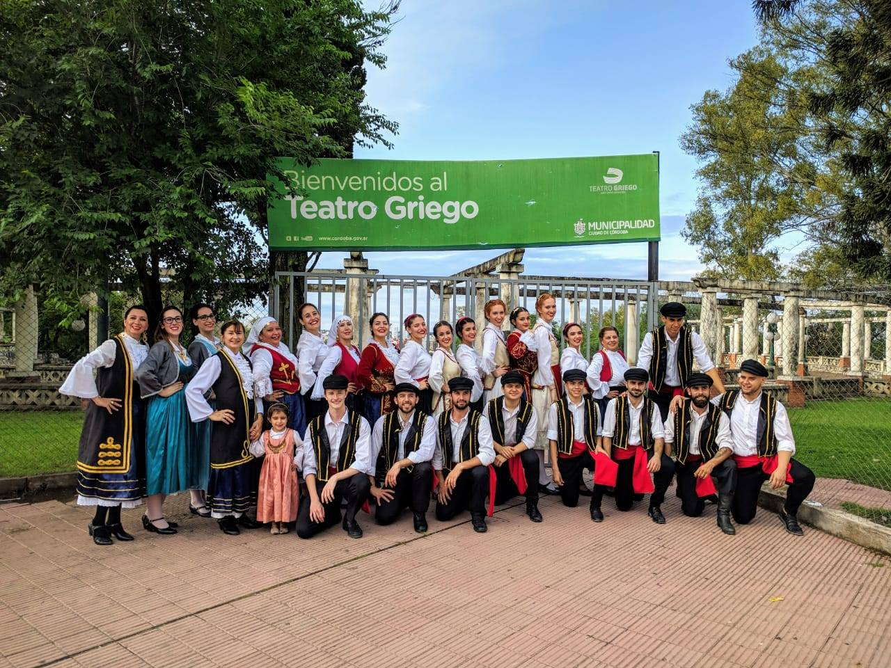 Members of the Hellenic community of Cordoba Argentina