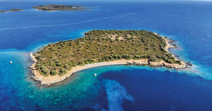 Private islands for sale Greece