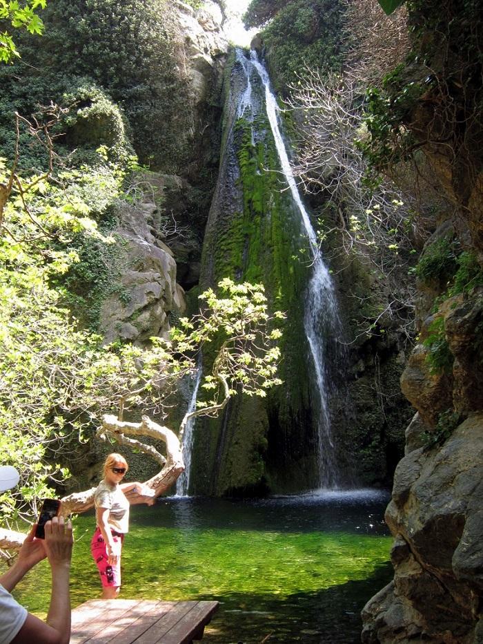Richtis Gorge Crete watefall