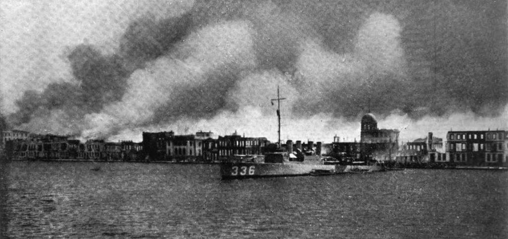 Greek genocide US Navy