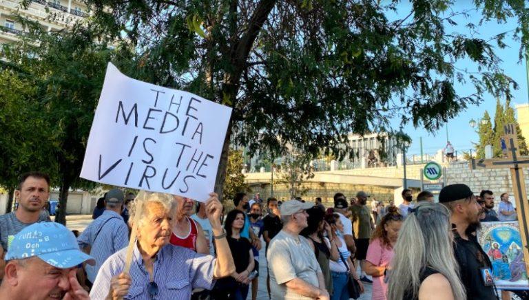 Greek Anti-Vaxxer Assaults, Sues School Principal