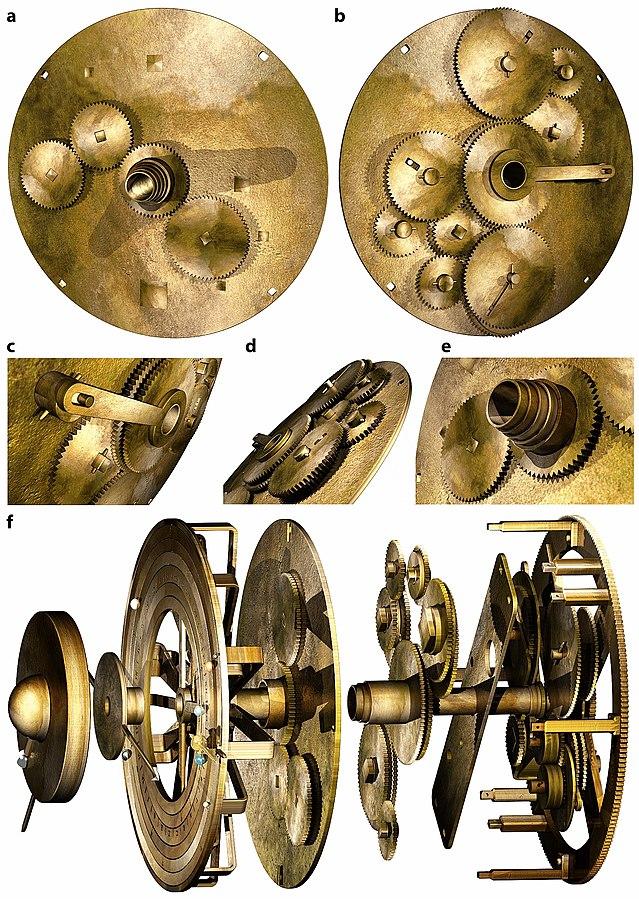 Antikythera astronomy space calculator