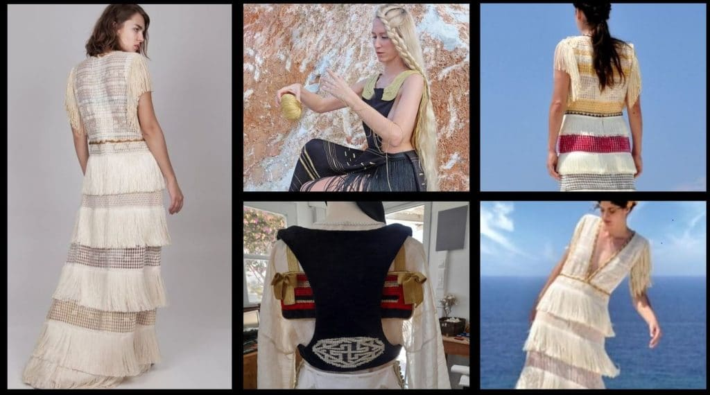 hand woven fashion